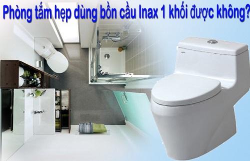 Kích thước bồn cầu Inax 504 có phù hợp với diện tích nhà vệ sinh hẹp?