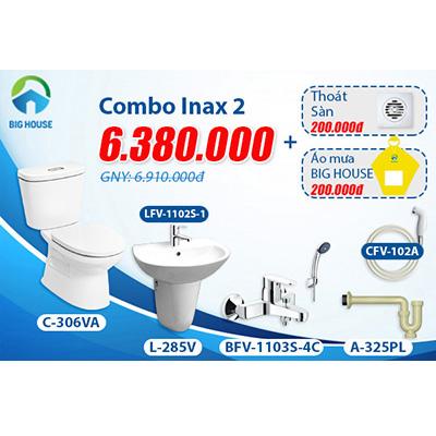 Khuyến mãi Combo thiết bị vệ sinh Inax số 2