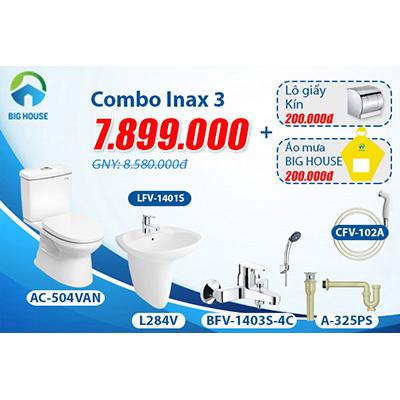 Khuyến mãi Combo thiết bị vệ sinh Inax số 3