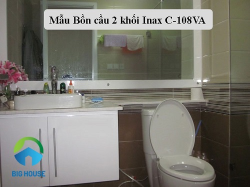 bồn cầu 2 khối Inax C-108VA