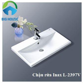 chậu rửa âm bàn Inax L-2397V