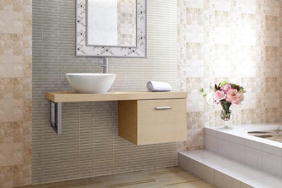 Chậu rửa Inax Cabinet CB1206-4IF-B màu gỗ nhạt