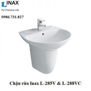 chậu rửa treo tường Inax L-285V & L-288VC