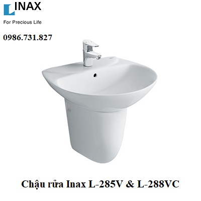Chậu rửa treo tường Inax L-285V