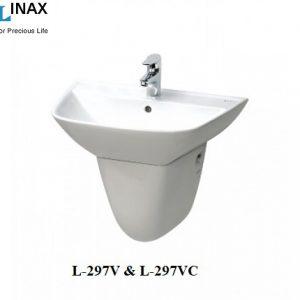Chậu rửa treo tường Inax L-297V & L-297VC