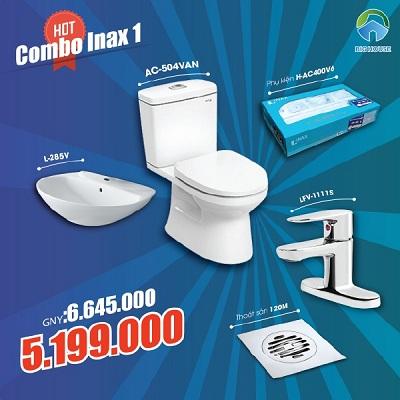 Khuyến mãi Combo thiết bị vệ sinh Inax số 1