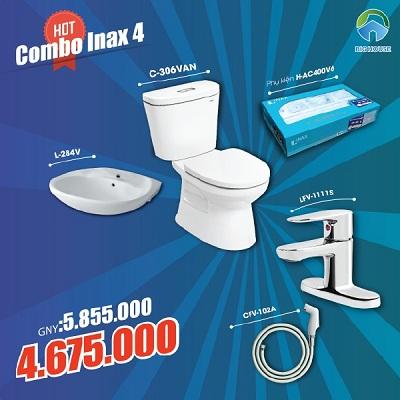 Khuyến mãi Combo thiết bị vệ sinh Inax số 4