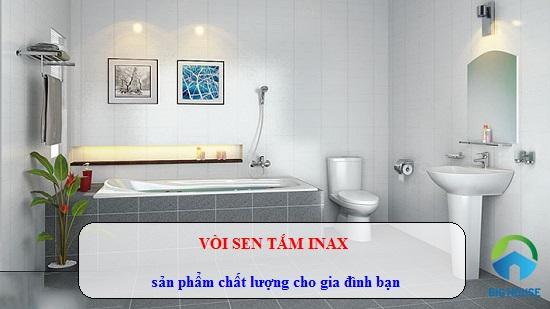 Sen vòi Inax: Phân loại, Cấu tạo, Công nghệ nổi bật của sen vòi chính hãng