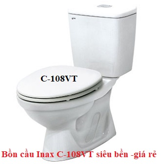Bồn cầu 2 khối Inax C-108VT