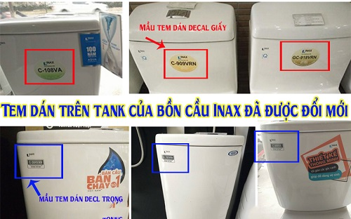Bệt vệ sinh Inax giả