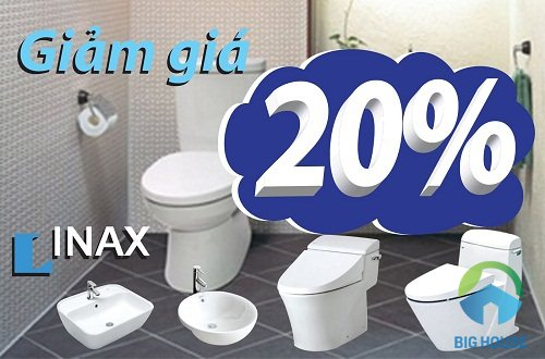 thiết bị vệ sinh inax khuyến mãi 2