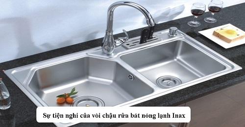 Top 10 Mẫu vòi rửa bát Inax nóng lạnh gắn tường, chậu Đẹp –  Giá tốt