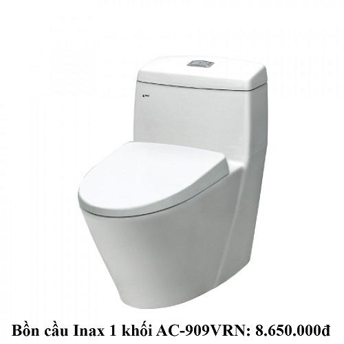 Giá bồn cầu Inax 1 khối AC-909VRN