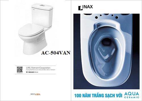 bồn cầu 2 khối Inax AC-504VAN