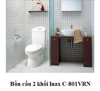 Bồn cầu 2 khối Inax C-801VRN