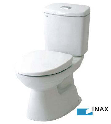 Bồn cầu 2 khối Inax