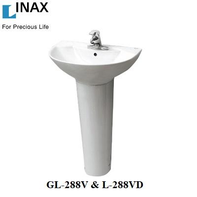 Chậu rửa treo tường Inax GL-288V & L-288VD
