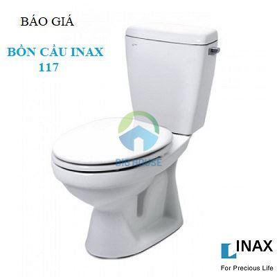 Bảng báo giá bồn cầu Inax 117 mới nhất 2019 – Chiết khấu cao nhất