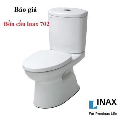 Bảng báo giá bồn cầu Inax 702 – Chiết khấu 30% chỉ có ở Big House