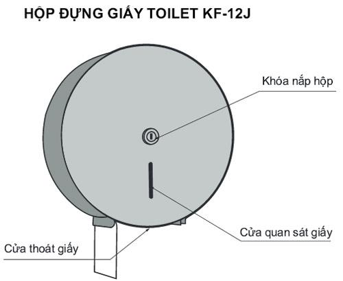 Hộp đựng giấy vệ sinh mã KF-12J