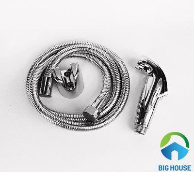 Cấu tạo và Cách lắp Vòi xịt vệ sinh bồn cầu Đơn giản – Đúng kỹ thuật