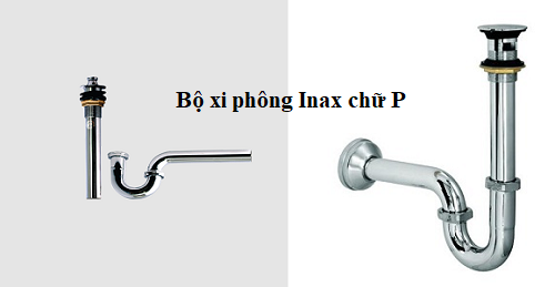 Xi phông chậu rửa Inax