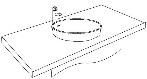 cách lắp chậu rửa mặt Inax