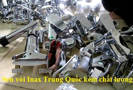 Cảnh báo Sen vòi Inax Trung Quốc Giả – Nhái xuất hiện trên thị trường
