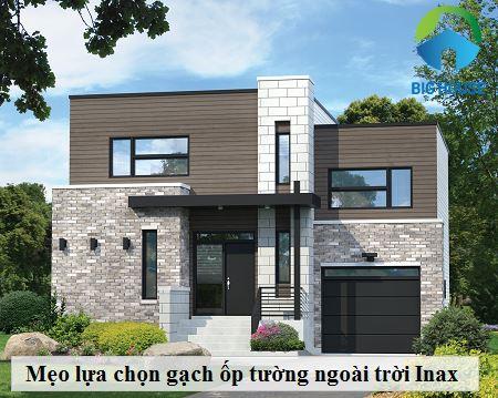 10++ Mẫu gạch ốp tường ngoài trời Inax đẹp kèm bảo giá chi tiết nhất 2021