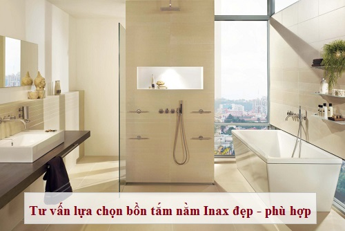 Top Mẫu Bồn tắm nằm Inax loại yếm, massage,… Cao cấp – Sang trọng