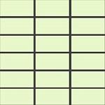 Gạch INAX-255/PPC-93 màu xanh nhạt