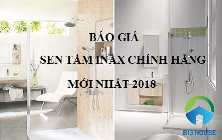 Bảng báo giá sen tắm Inax Chính Hãng – Giá Rẻ – Chiết Khấu cao 2018