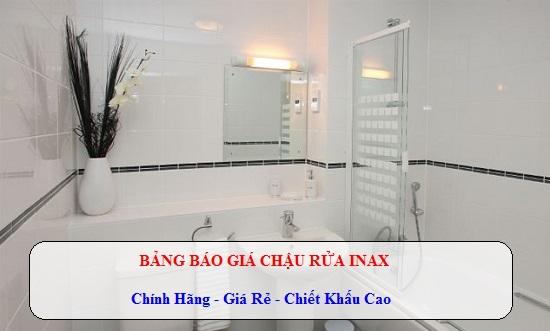 Bảng báo giá chậu rửa mặt Inax 2019 – Chiết khấu cao nhất tại Việt Nam