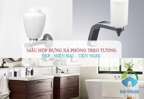 hộp đựng nước rửa tay treo tường