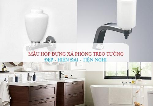 Hộp đựng nước rửa tay, xà phòng treo tường Nhỏ gọn – Tiện dụng nhất