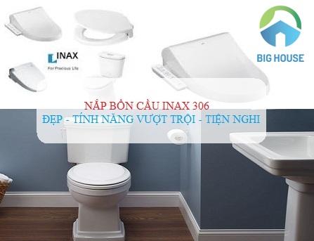 3 Mẫu nắp bồn cầu Inax 306 thông minh – Tiện dụng nhất cho gia đình