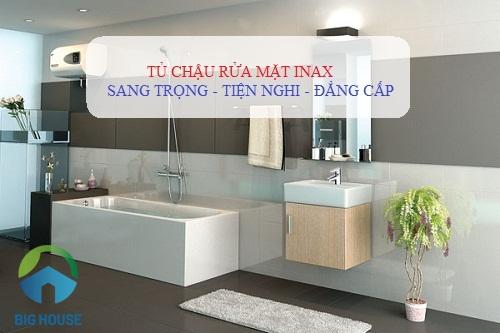2 Bộ tủ chậu rửa mặt Inax Tiên Nghi – Ăn Khách nhất tại Việt Nam 2019