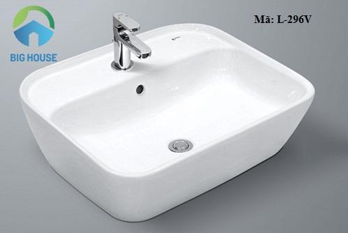 Chậu rửa mặt Inax: L-296V