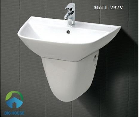 Chậu rửa mặt Inax: L-297V