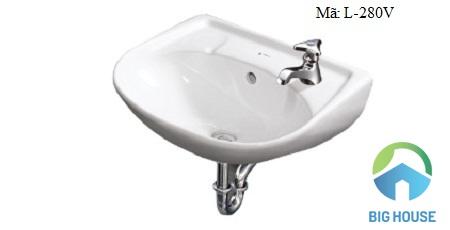 Chậu rửa mặt Inax treo tường L-280V