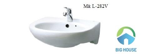 Chậu rửa mặt Inax loại nhỏ L-282V