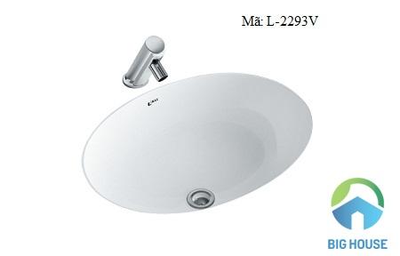 Chậu rửa mặt Inax loại nhỏ L-2293V