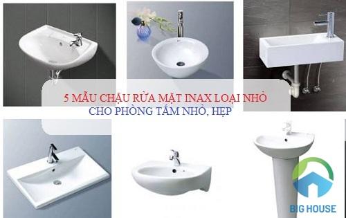Tổng hợp 5 mẫu chậu rửa mặt Inax loại nhỏ cho diện tích phòng tắm hẹp