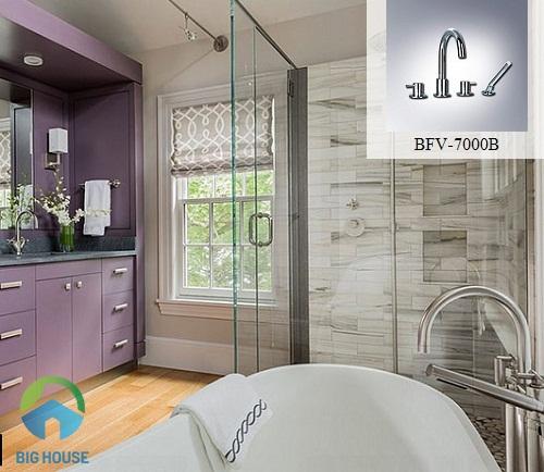 Bộ vòi bồn tắm Inax BFV-7000V
