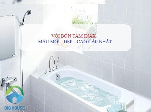 3 Mẫu vòi bồn tắm Inax BFV-8100V, BFV-5013S, BFV-7000V ĐẲNG CẤP nhất