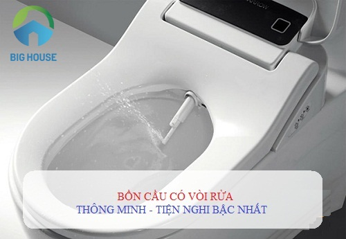 TOP 3 bồn cầu có vòi rửa CỰC THÔNG MINH – cho trải nghiệm TUYỆT nhất