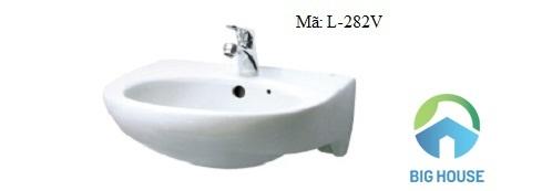 Chậu rửa mặt Inax treo tườngL-282V