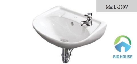 Chậu rửa mặt Inax L-280V
