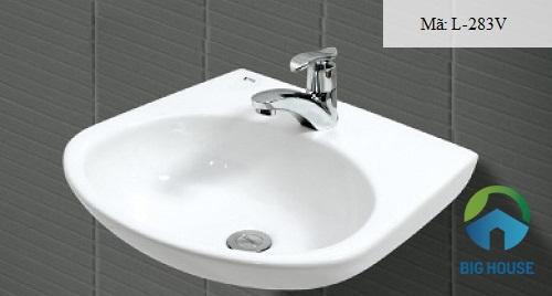 Chậu rửa mặt Inax L-283V