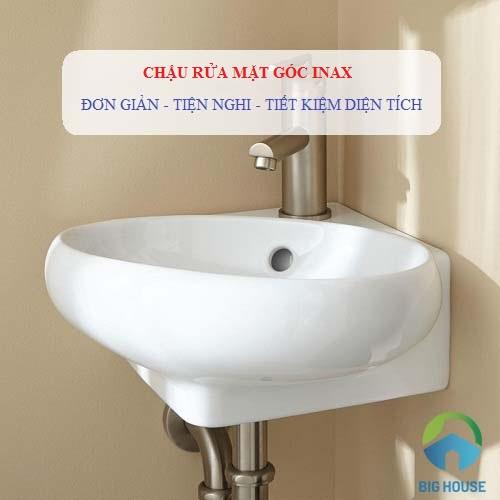 Thiết bị vệ sinh Inax có sản xuất mẫu chậu rửa mặt góc Inax hay không?